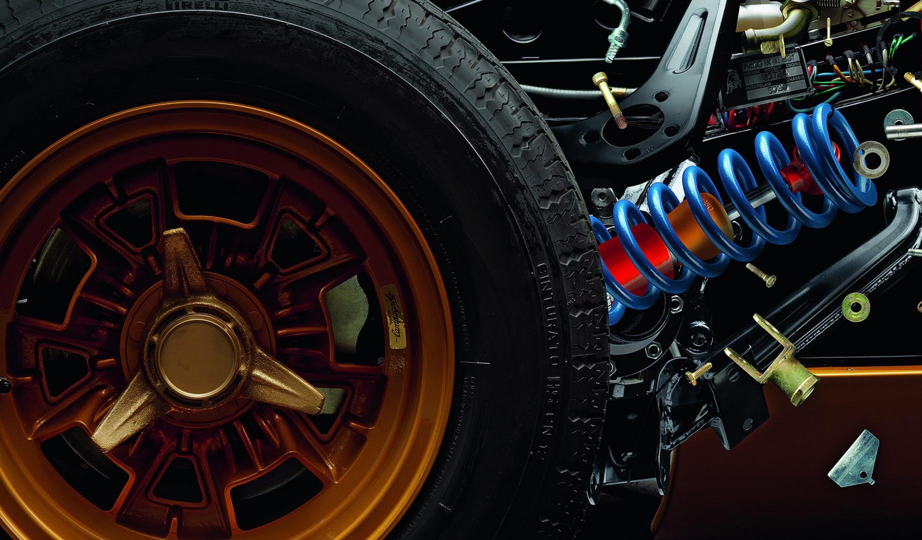 Disintegrating X (Lamborghini Miura)