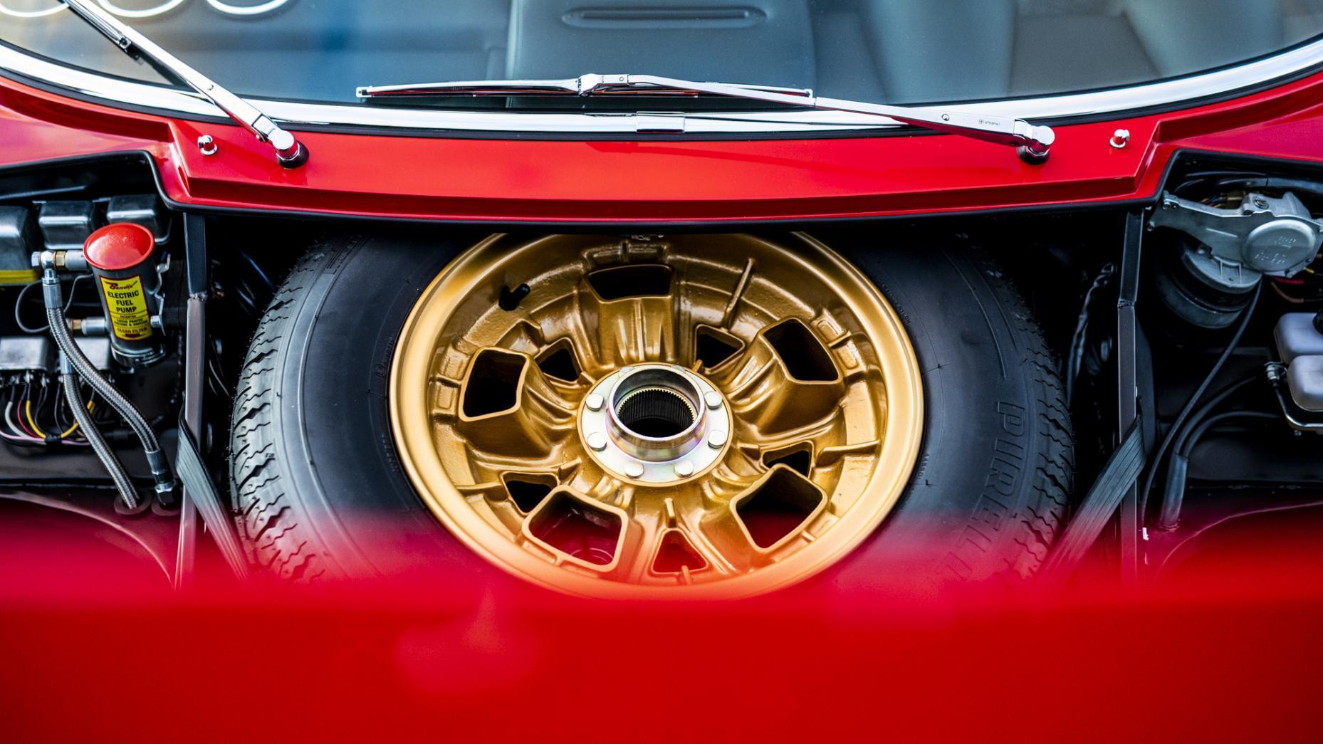 Lamborghini Miura SV Restauratie wielen