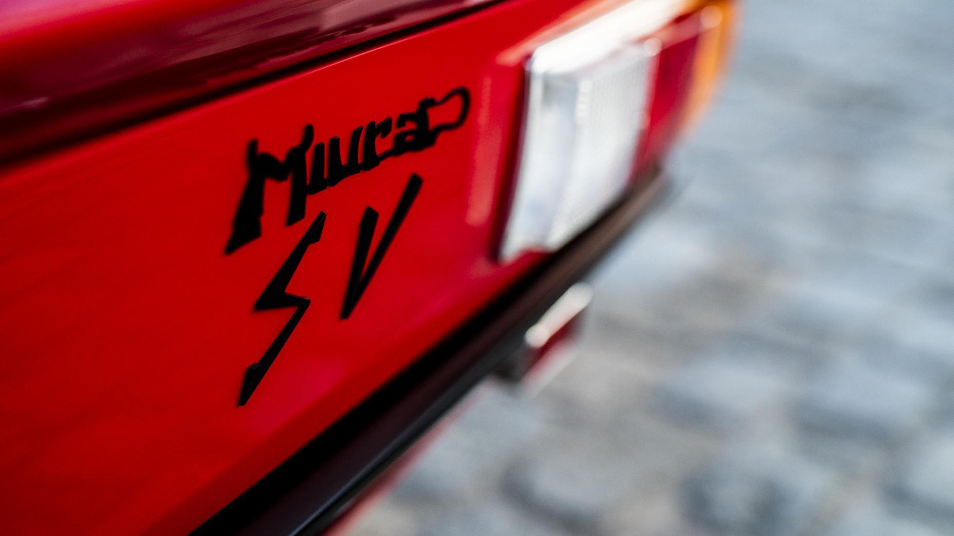 Lamborghini Miura SV Restauratie