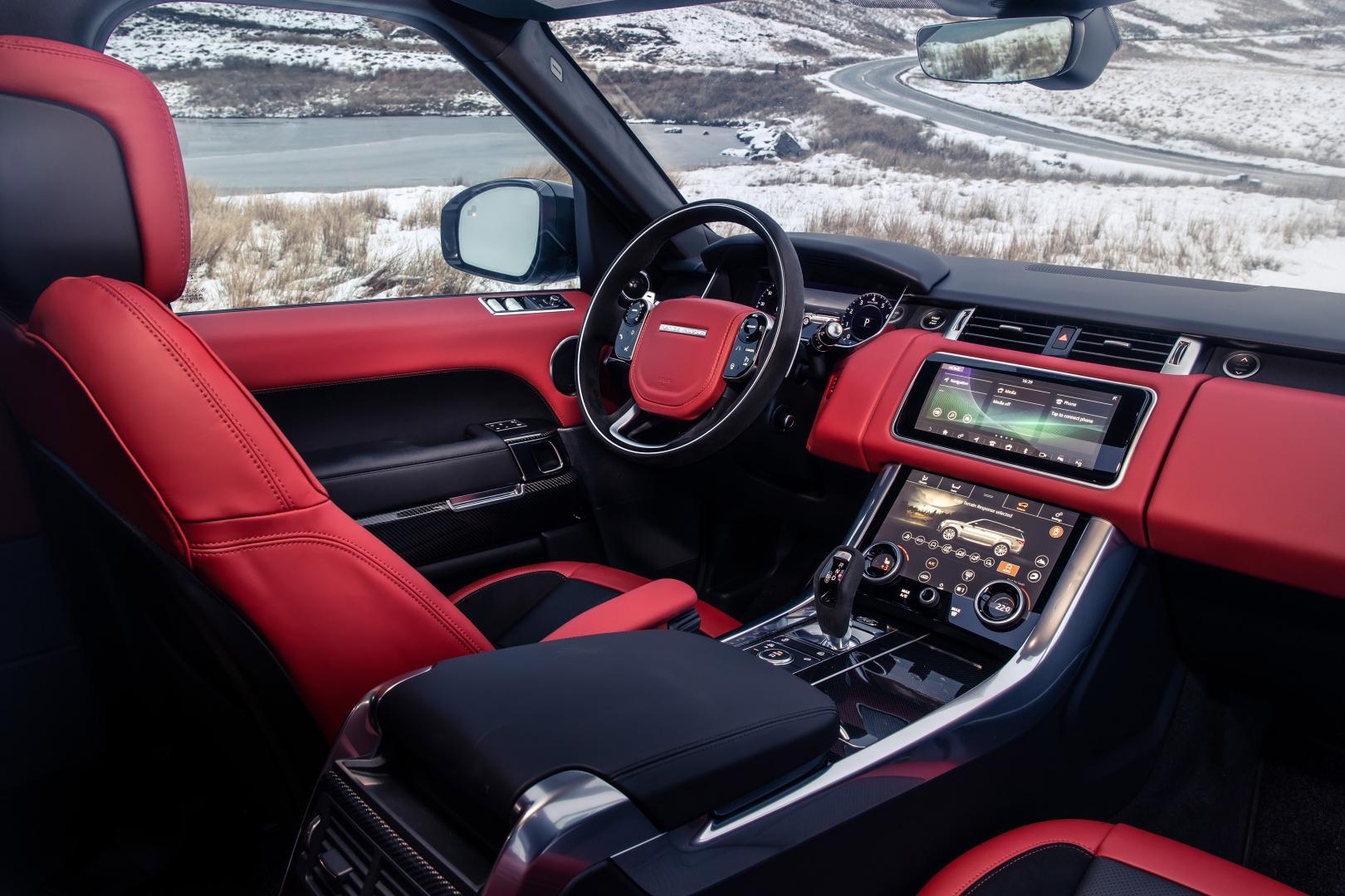 Land Rover Range Rover HST Interieur Dashboard