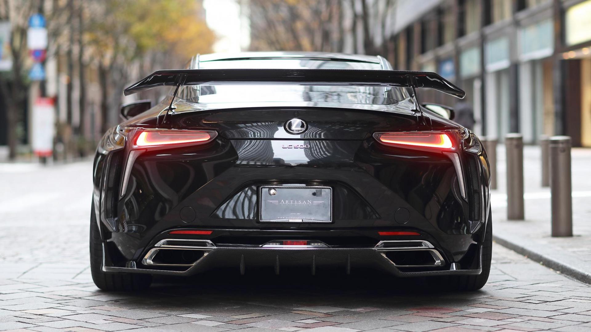Lexus LC Artisan Spirits