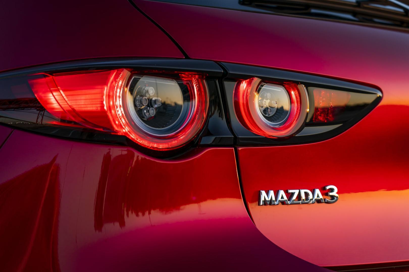 Mazda 3 2019 achterlicht