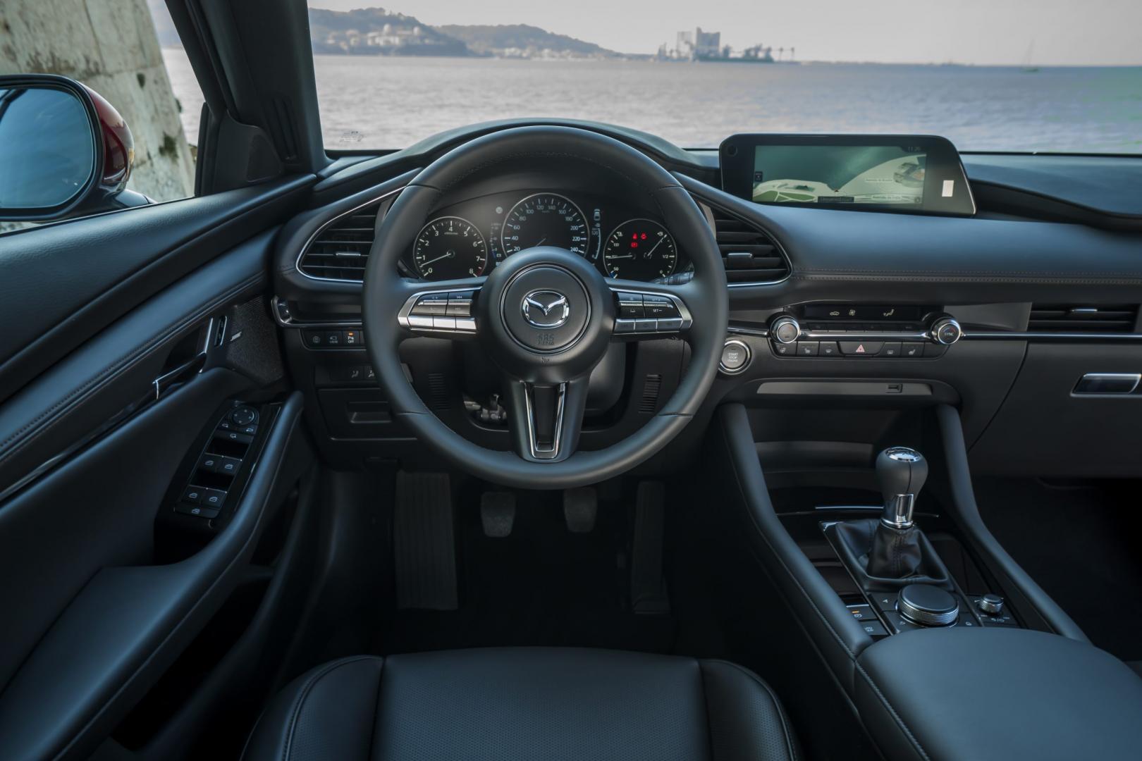 Mazda 3 2019 interieur dashboard stuur