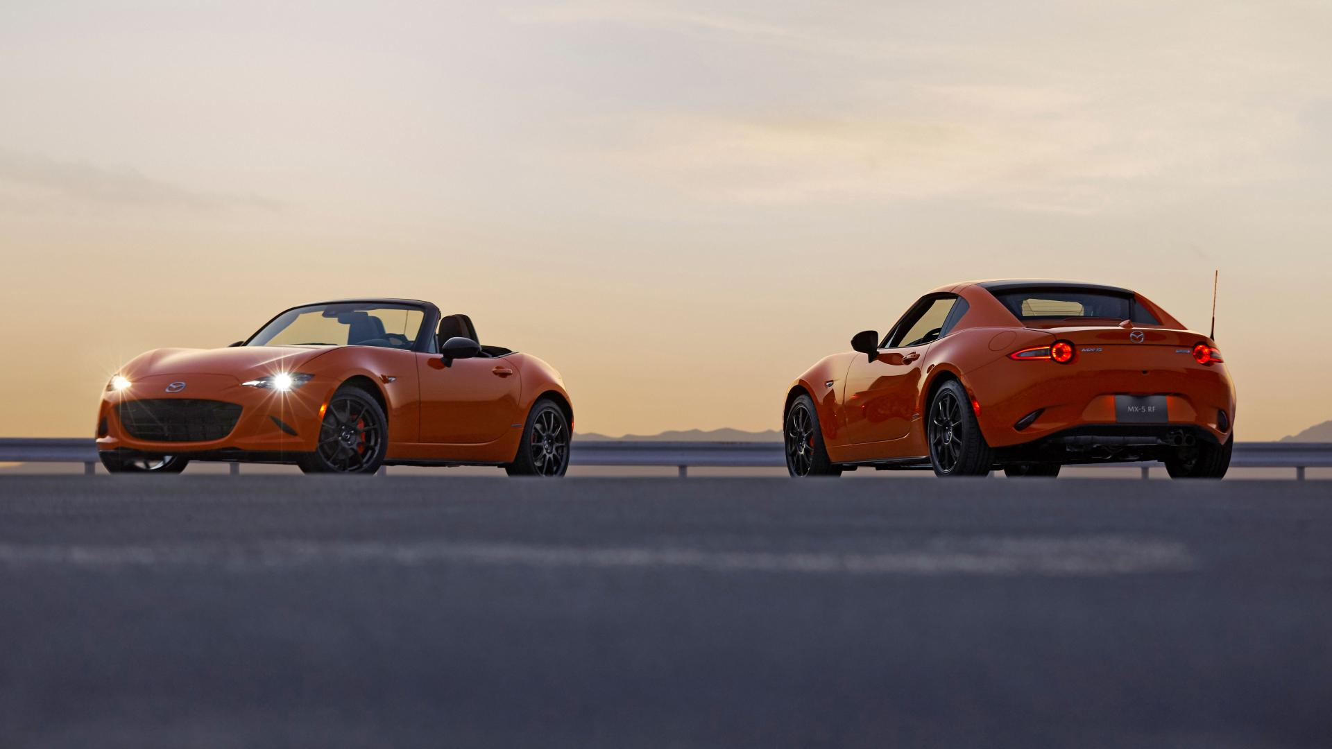 Mazda MX-5 30th Anniversary RF en Roadster