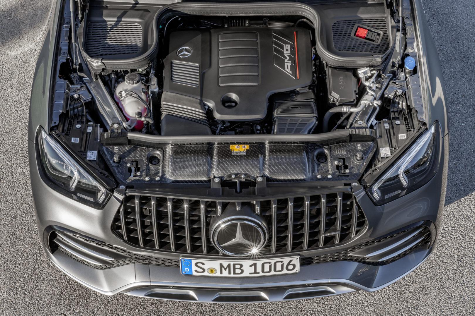Mercedes-AMG GLE 53 zes-in-lijn-motor