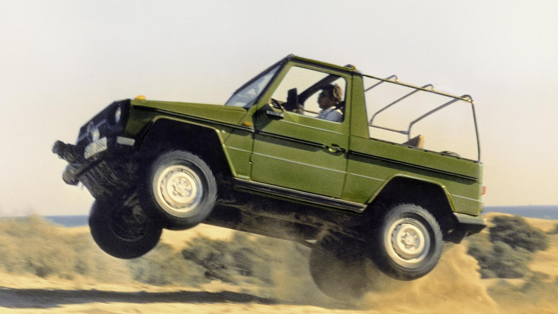 Mercedes-Benz G-klasse is 40 jaar