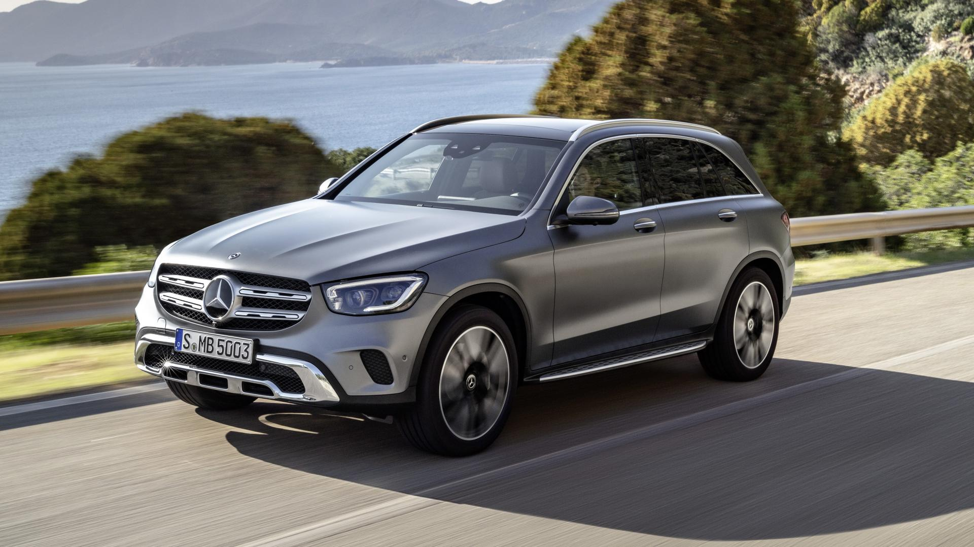 Mercedes GLC-facelift 2019