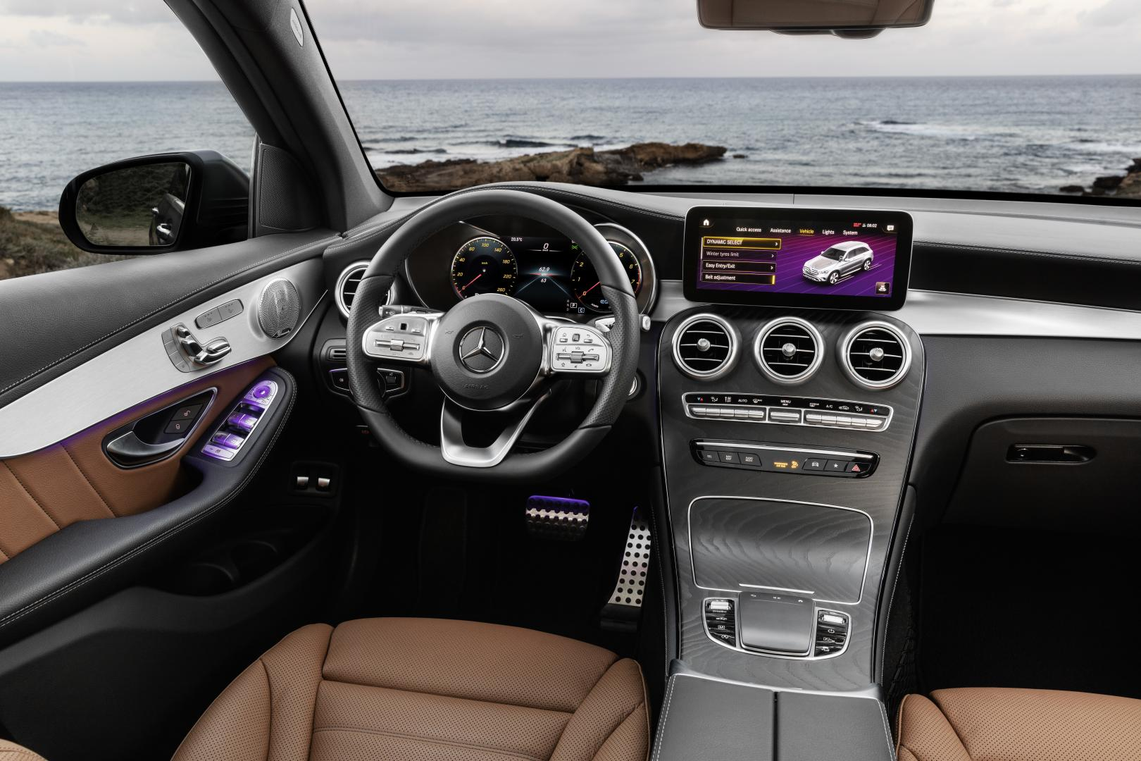 Mercedes GLC-facelift 2019 interieur