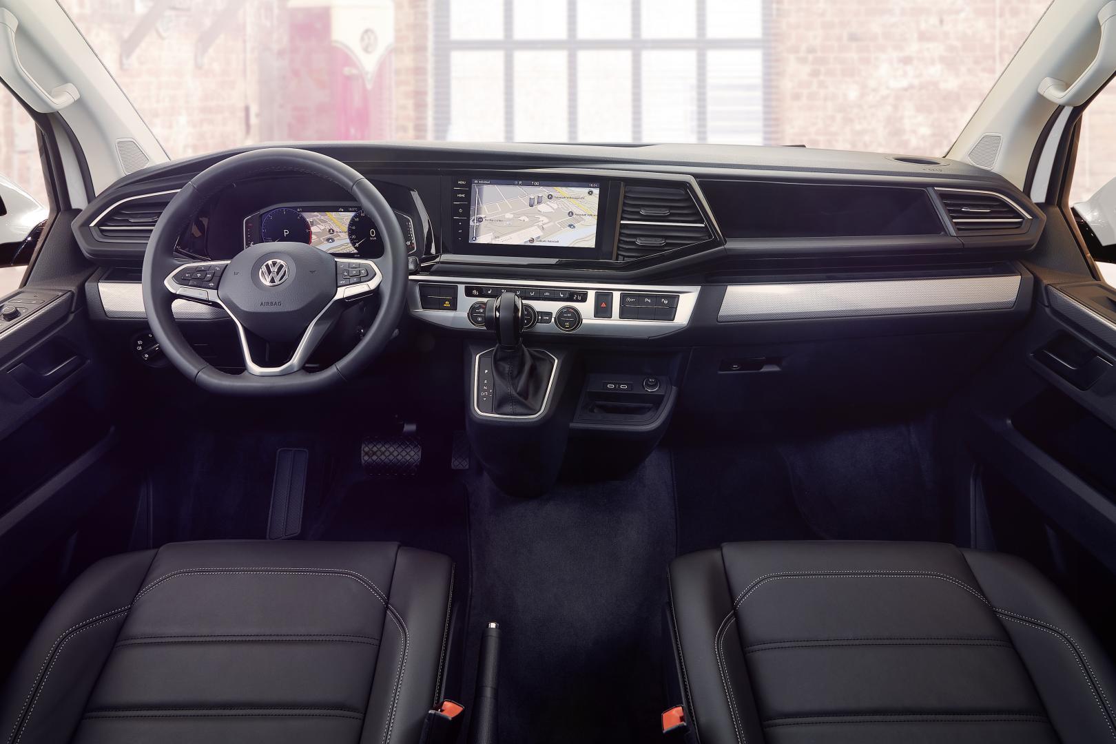 nieuwe VW Multivan