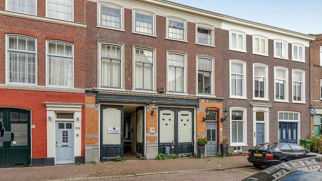 oude rijtuigenfabriek in Den Haag