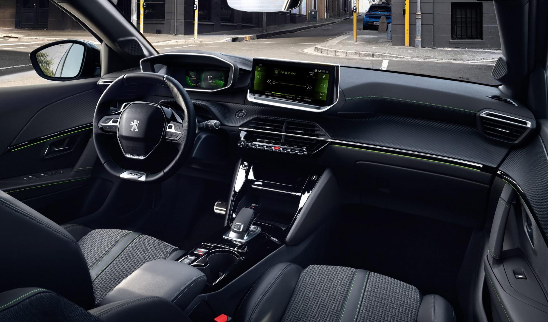 Peugeot 208 2019 interieur