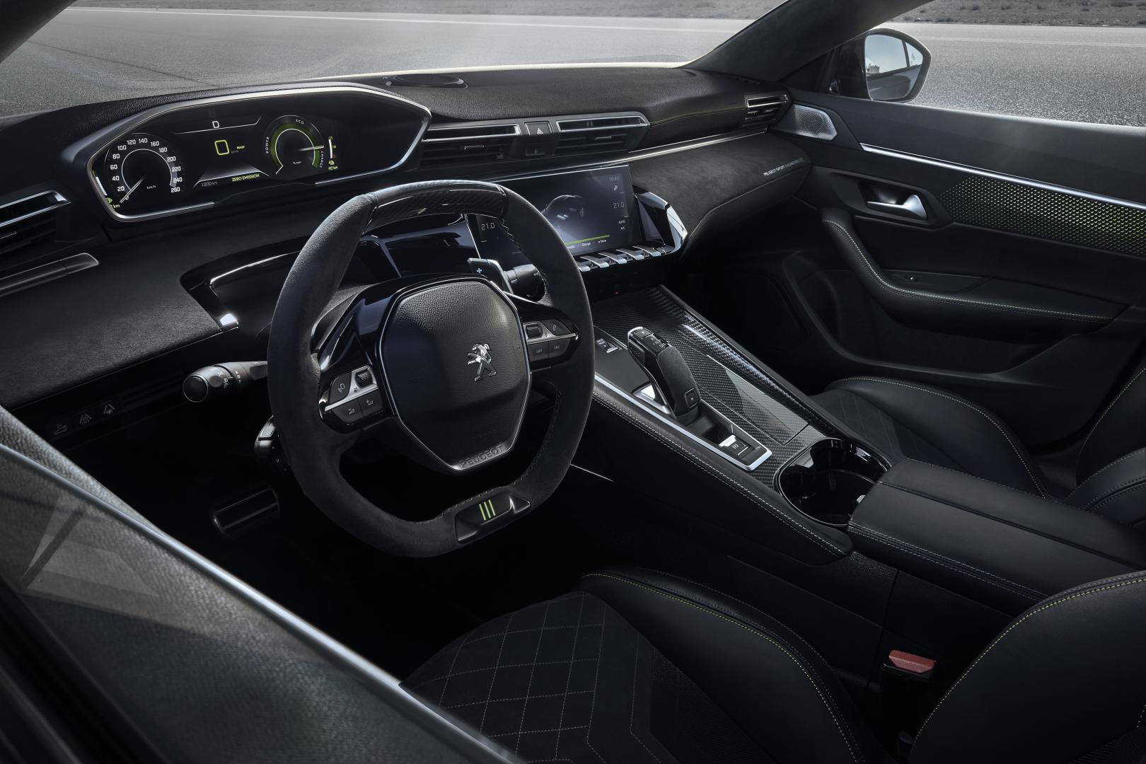 Peugeot 508 Sport Engineered interieur