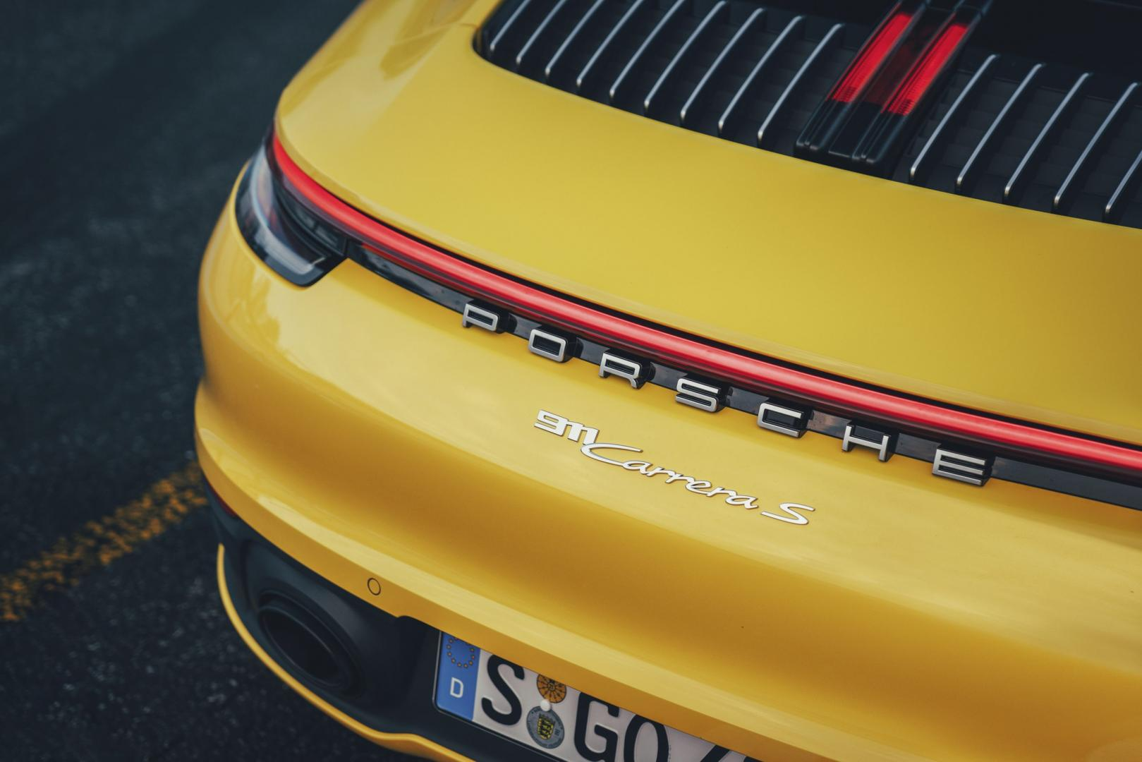 Porsche 911 Carrera S achterlicht