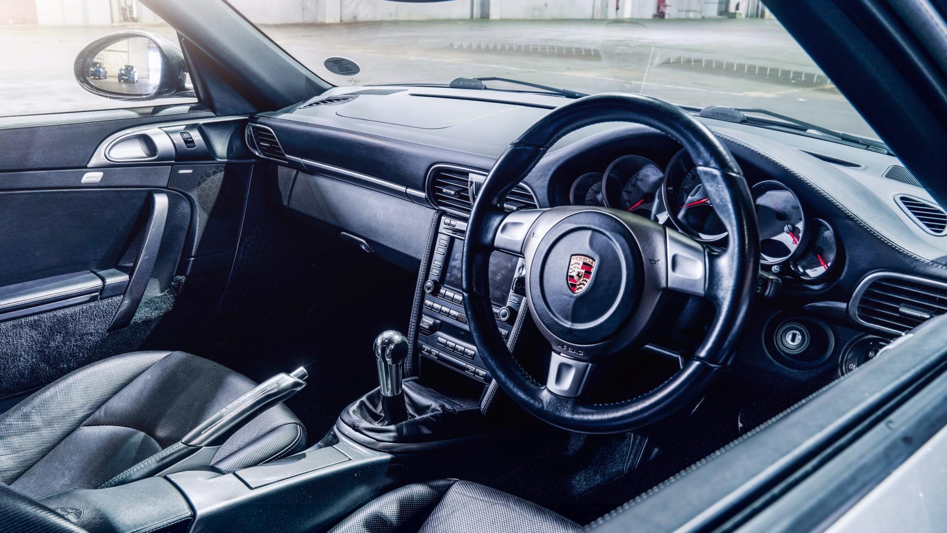 Porsche 911 Carrera S stuur