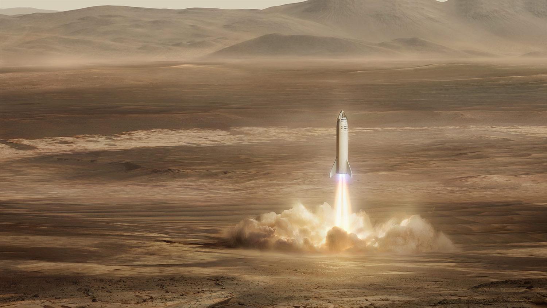 Ticket naar Mars