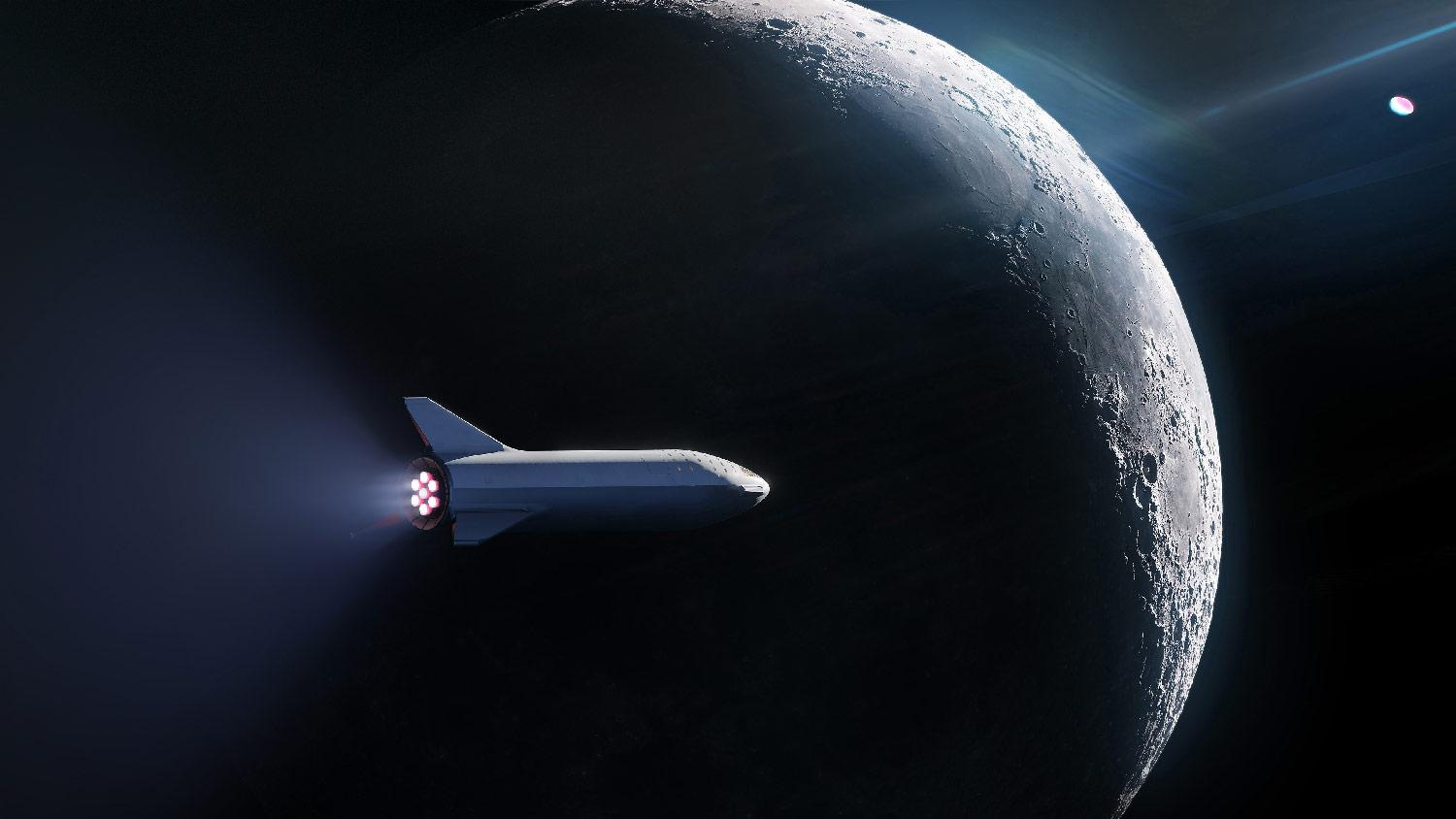 SpaceX BFR ticket naar mars