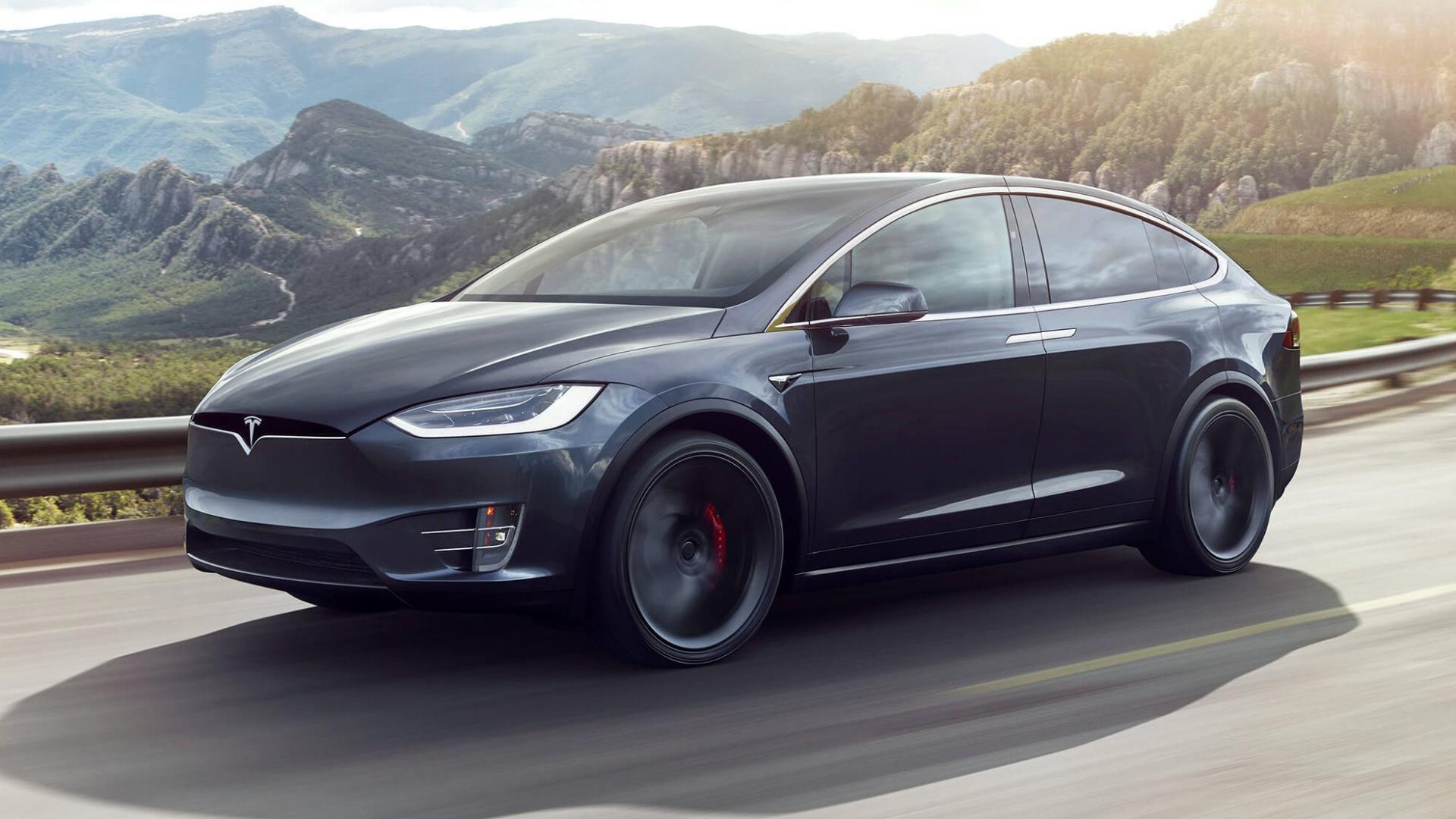 Tesla Model X Grijs