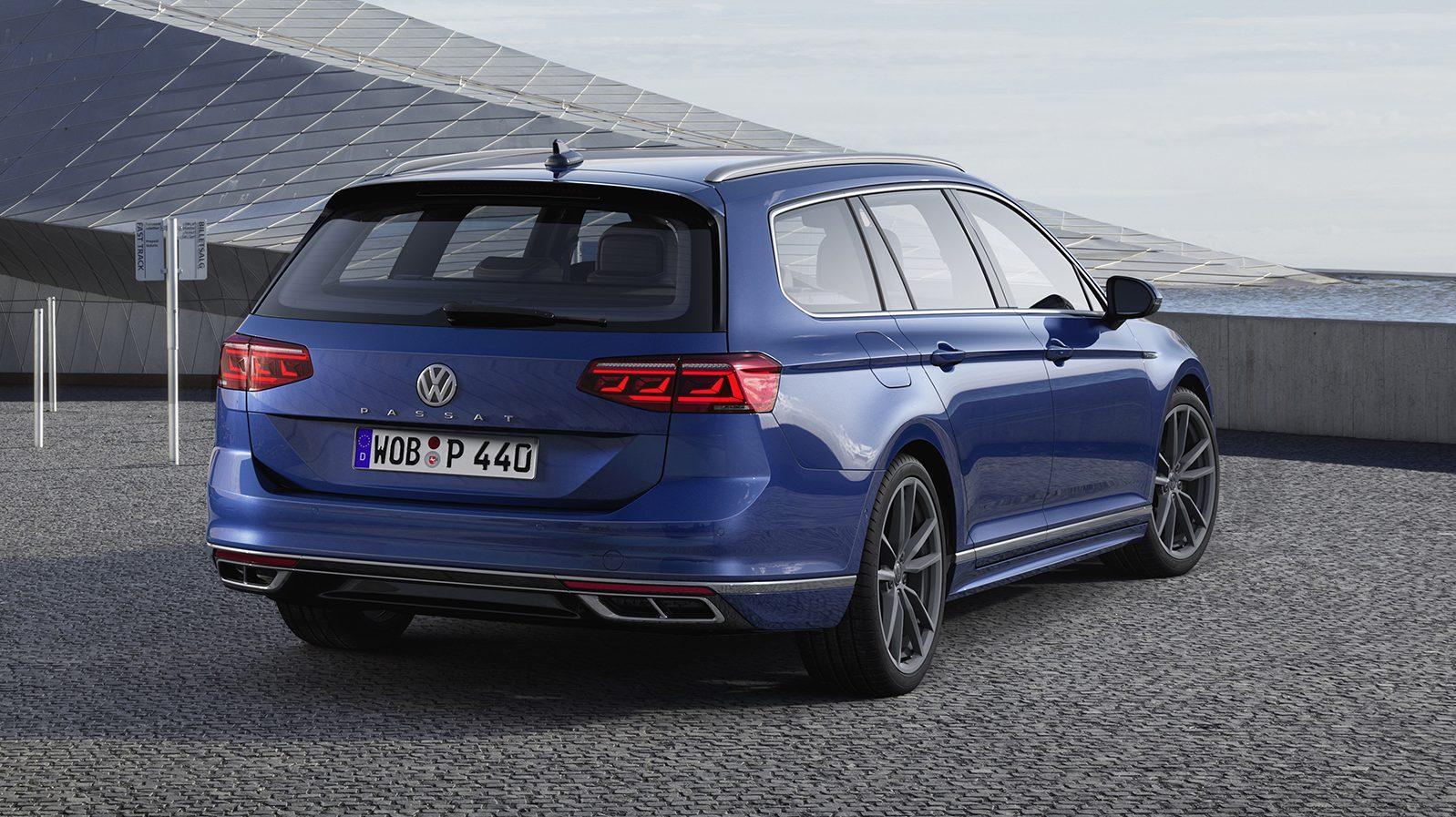Volkswagen Passat-facelift 2019 Variant