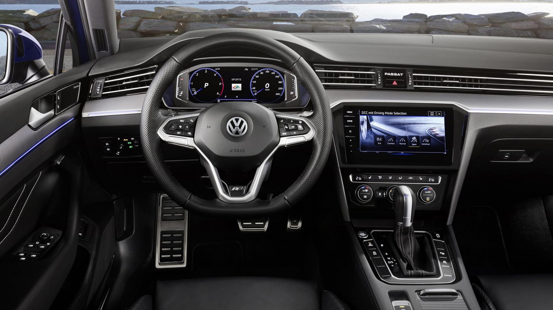 Volkswagen Passat-facelift 2019 Variant interieur