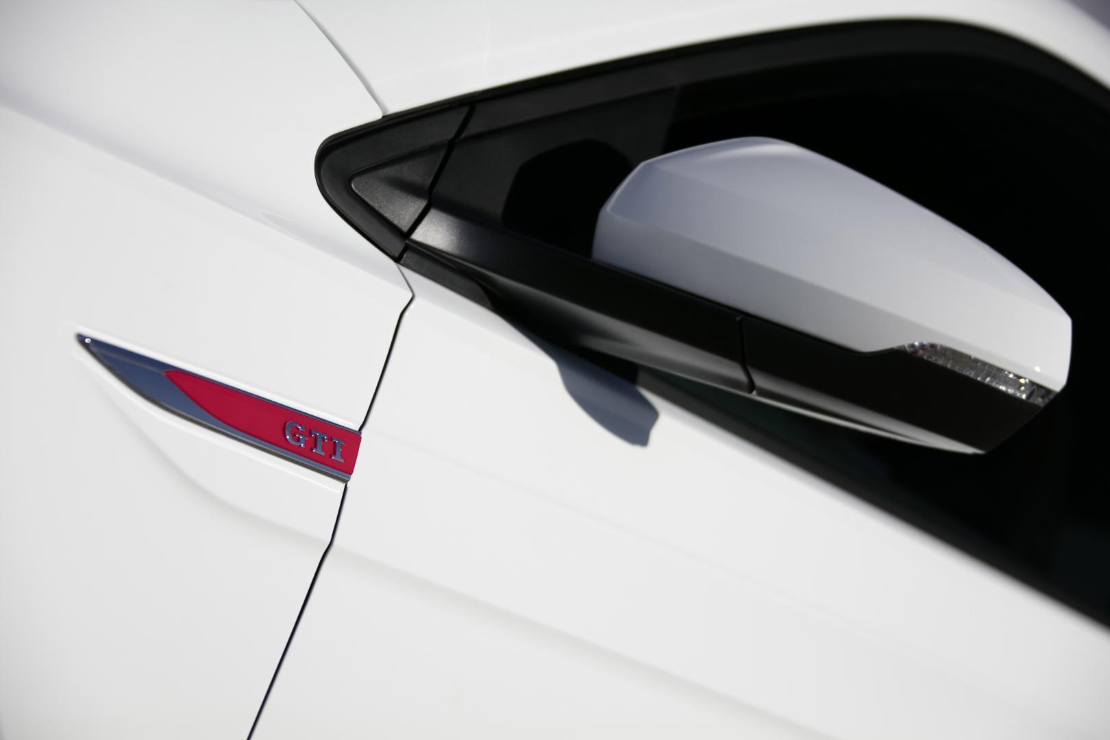 zijspiegel buitenspiegel Volkswagen Polo GTI en badge