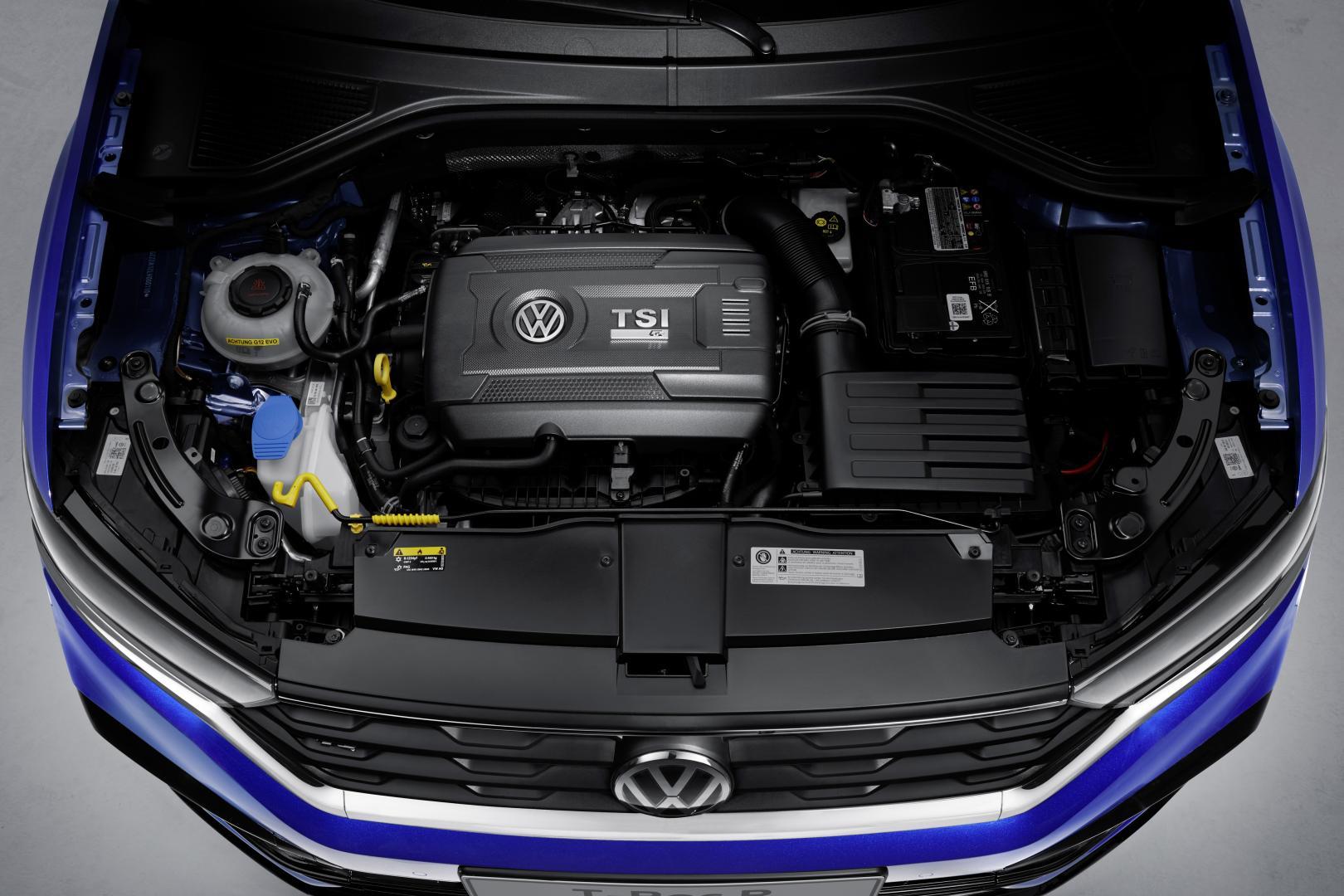 Volkswagen T-Roc R 2019 2.0 TSI motor