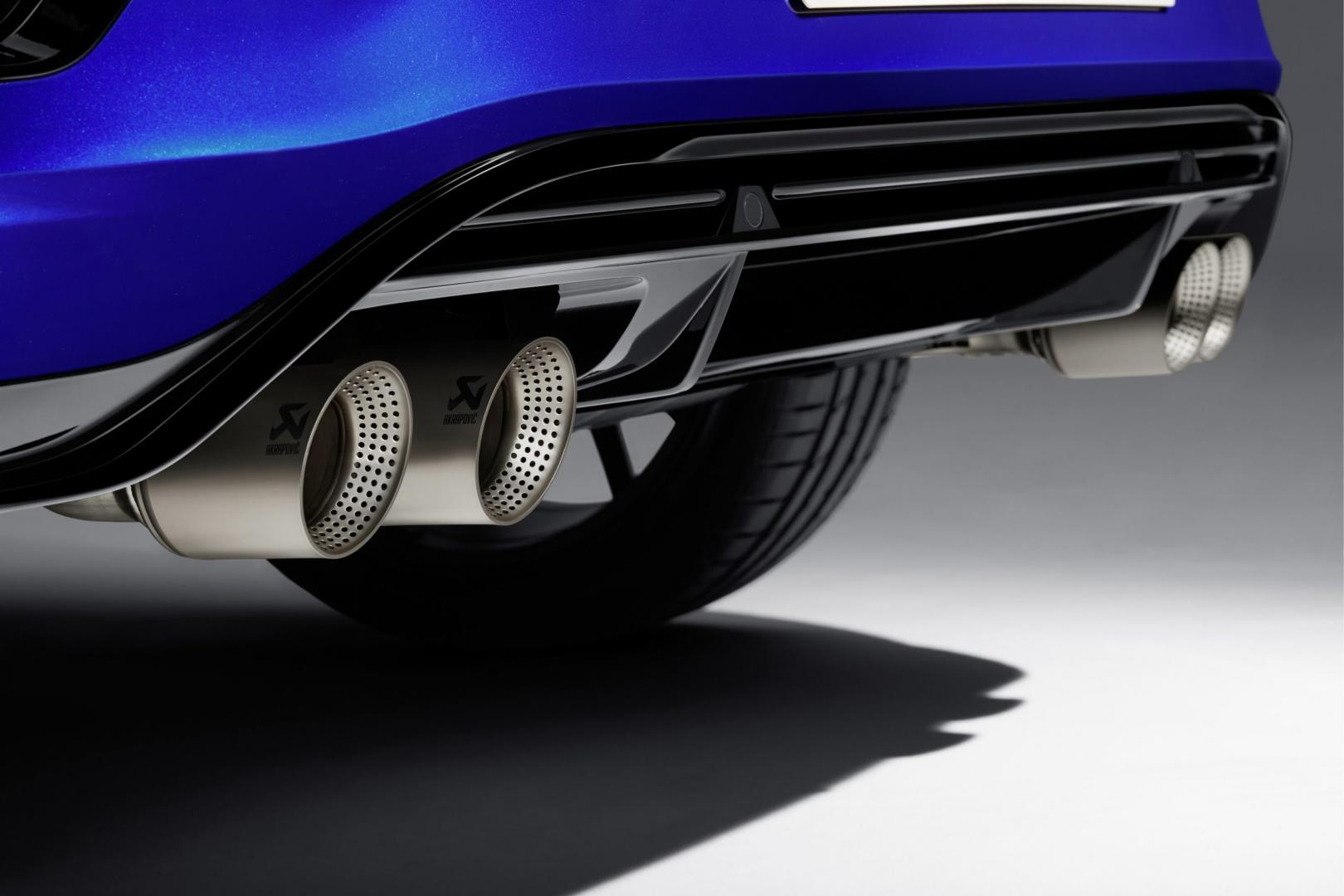 Volkswagen T-Roc R 2019 uitlaat