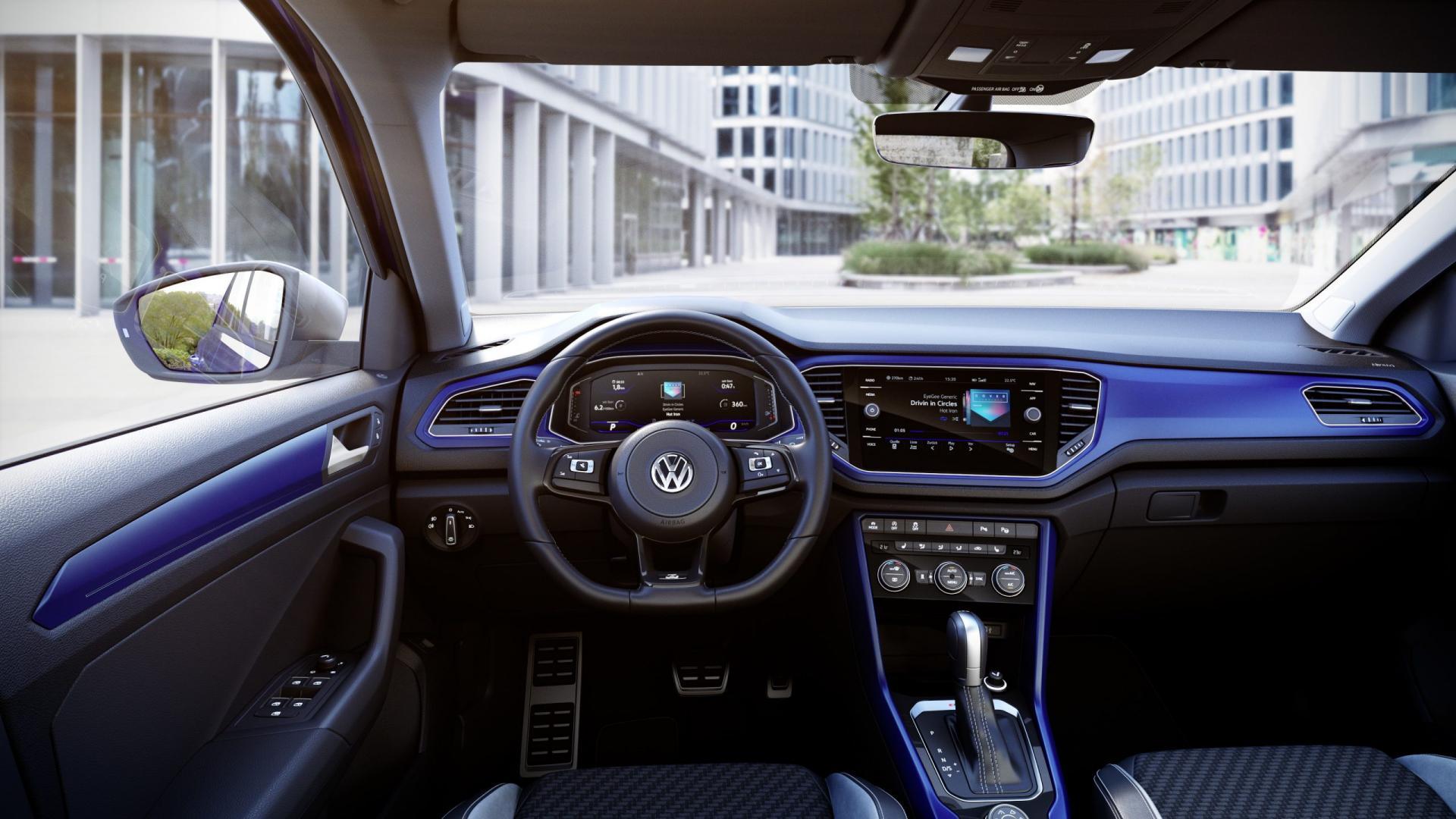 Volkswagen T-Roc R 2019 interieur dashboard