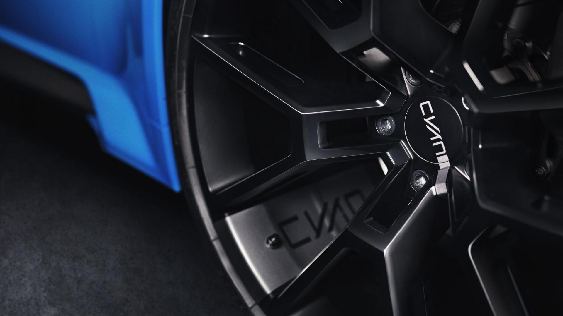 Lynk & Co 03 Cyan Concept wielen