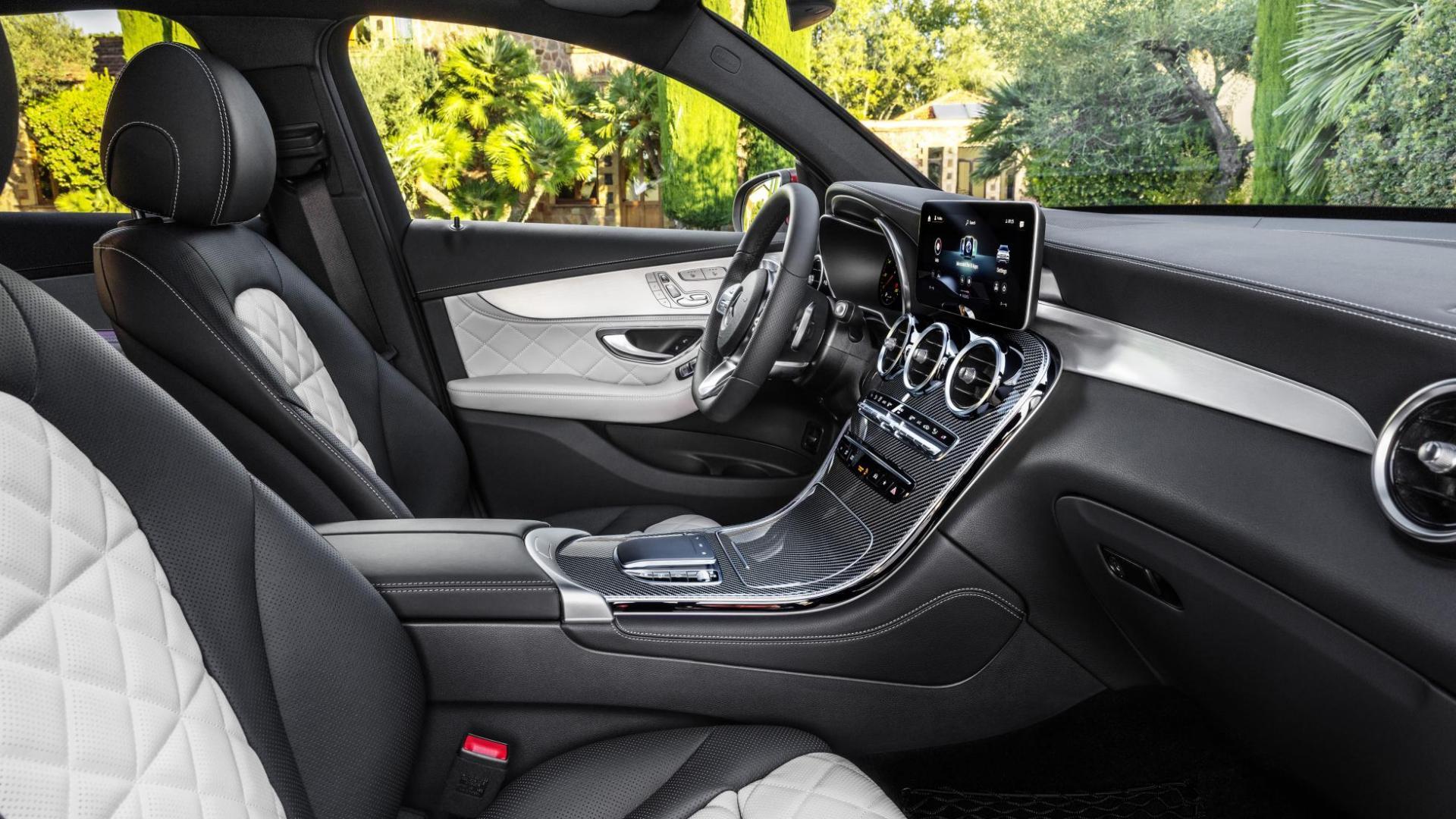 Mercedes GLC Coupé-facelift interieur