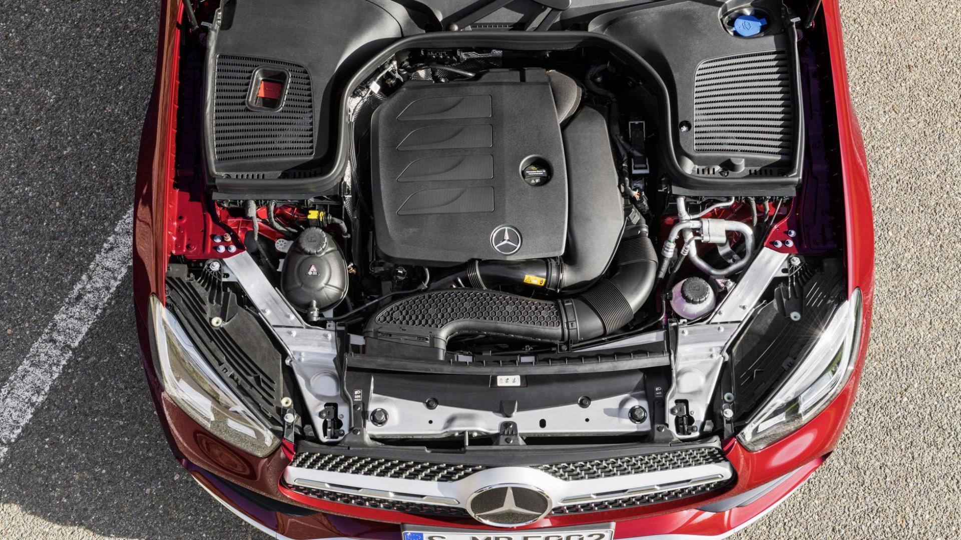 Mercedes GLC Coupé-facelift motor