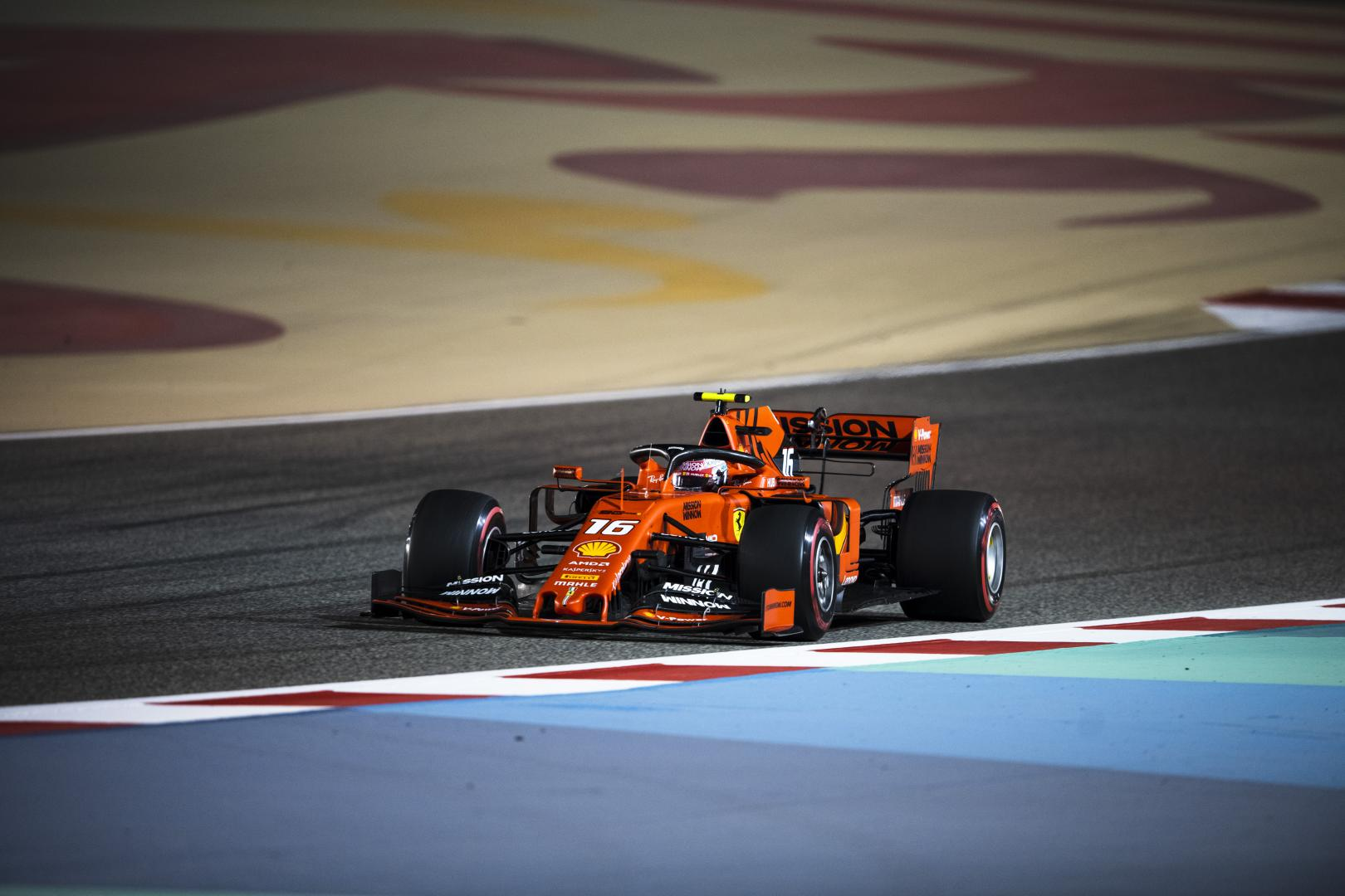 3e vrije training van de GP van Bahrein 2019