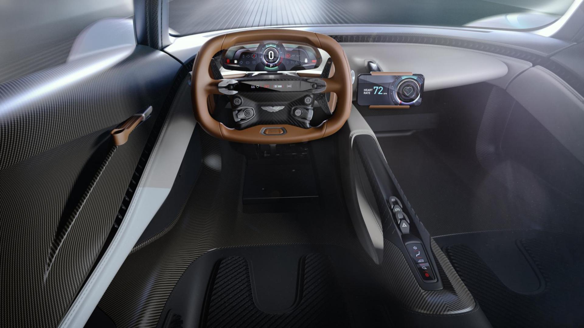 Aston Martin RB 003 dashboard