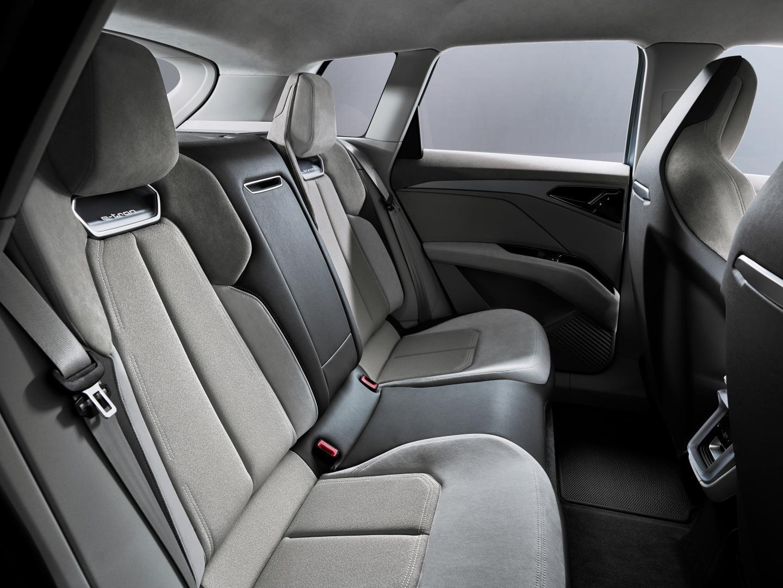 Audi Q4 e-tron Concept interieur achterbank