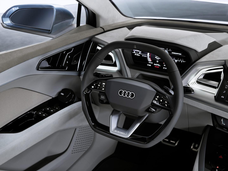 Audi Q4 e-tron Concept interieur
