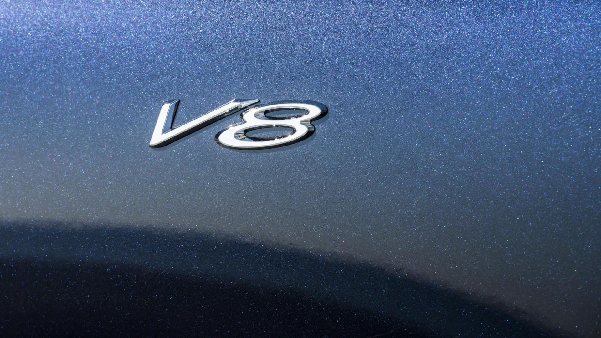 Bentley Continental GT V8 badge
