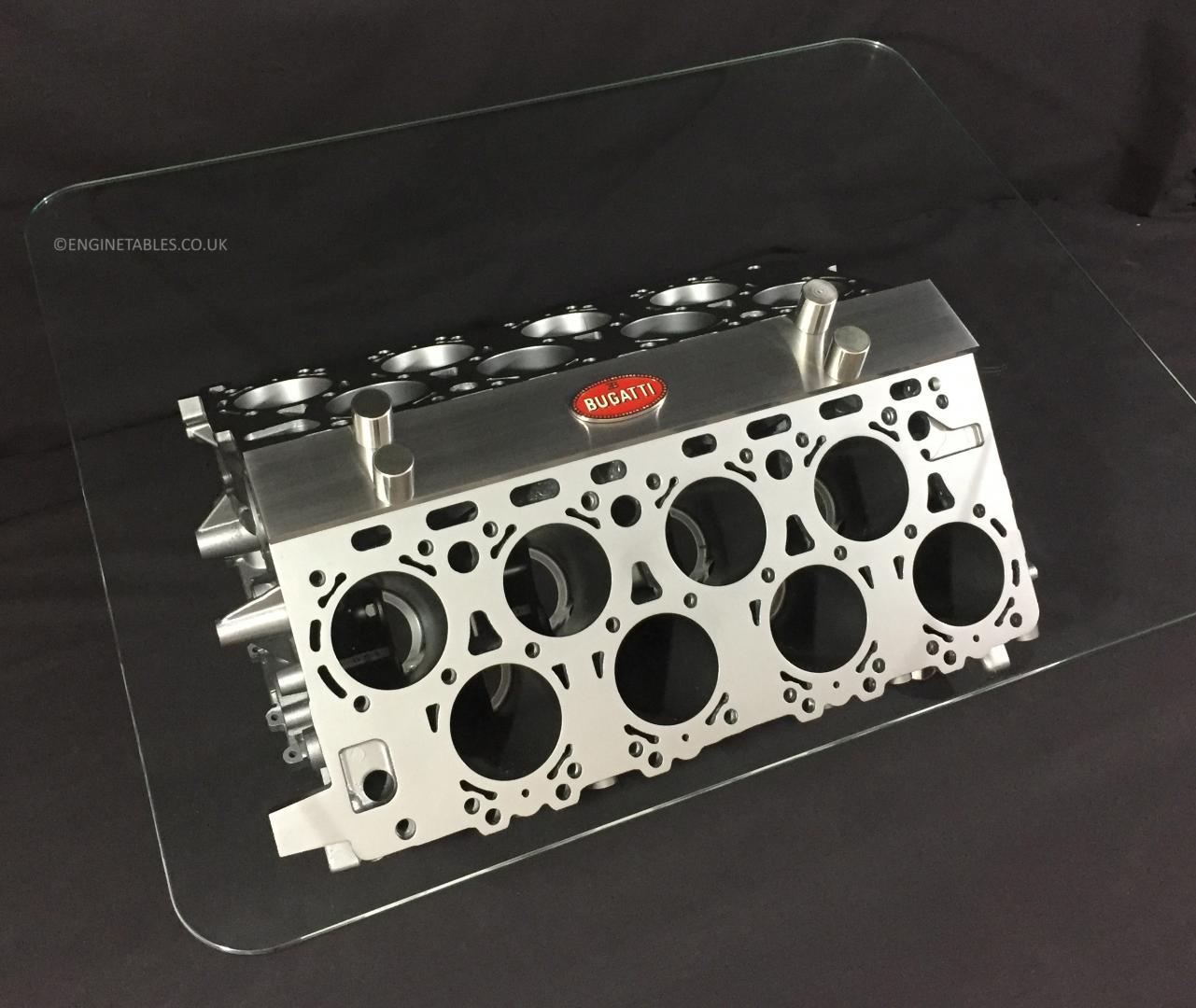 Bugatti Chiron W16-tafel
