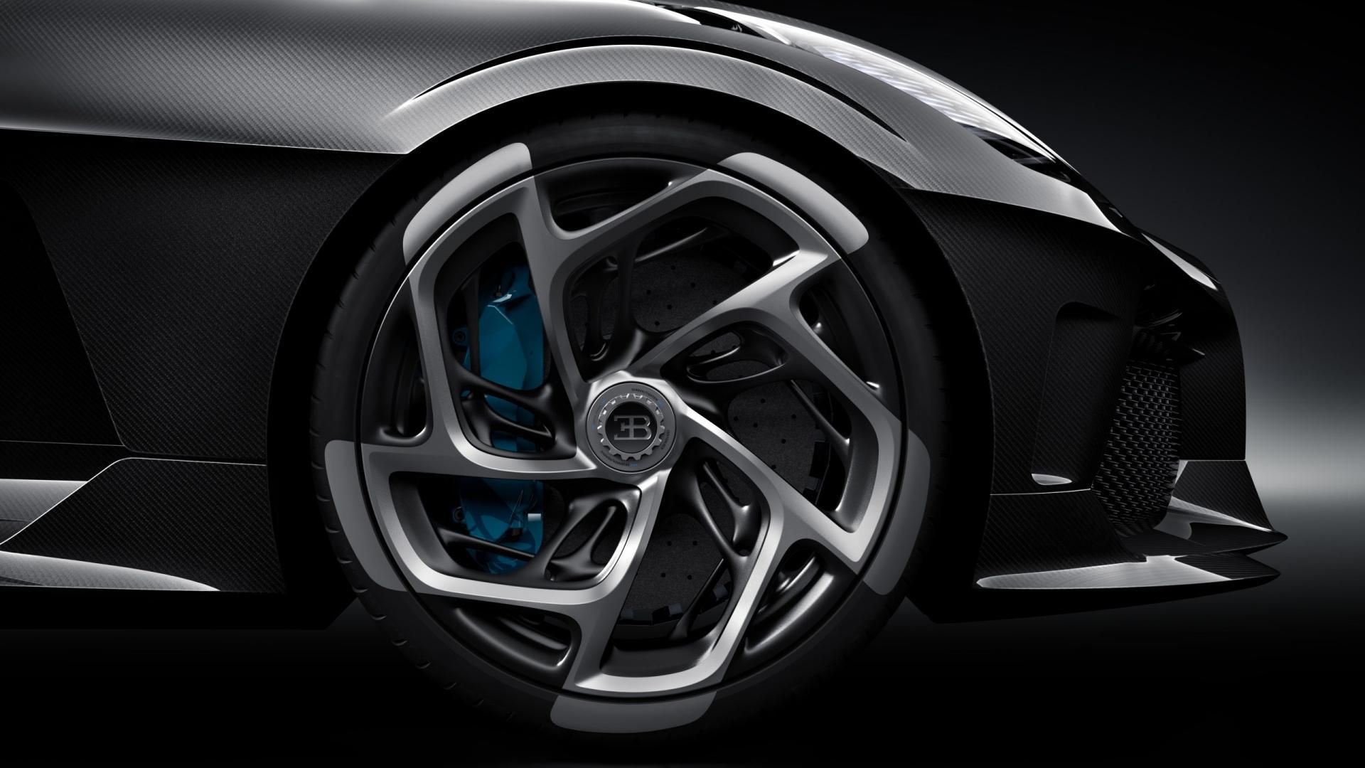 Bugatti La Voiture Noire velgen