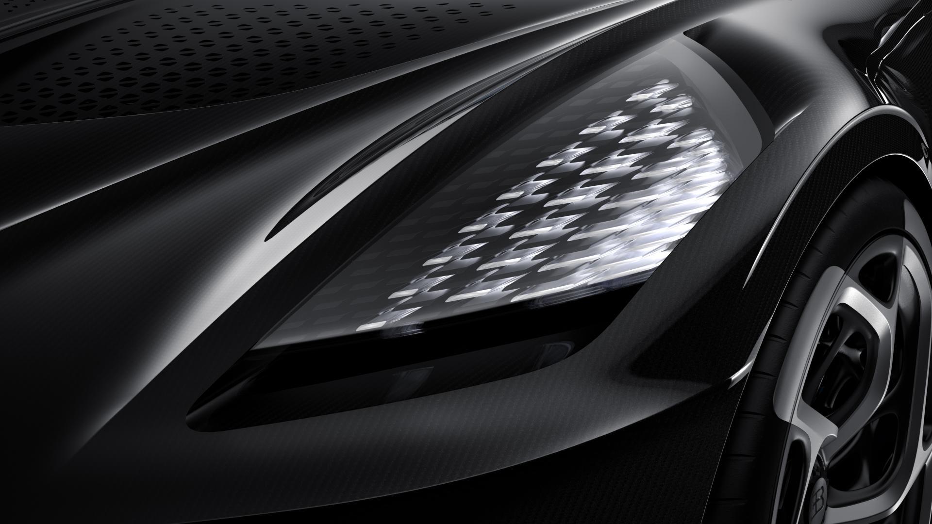 Bugatti La Voiture Noire koplamp