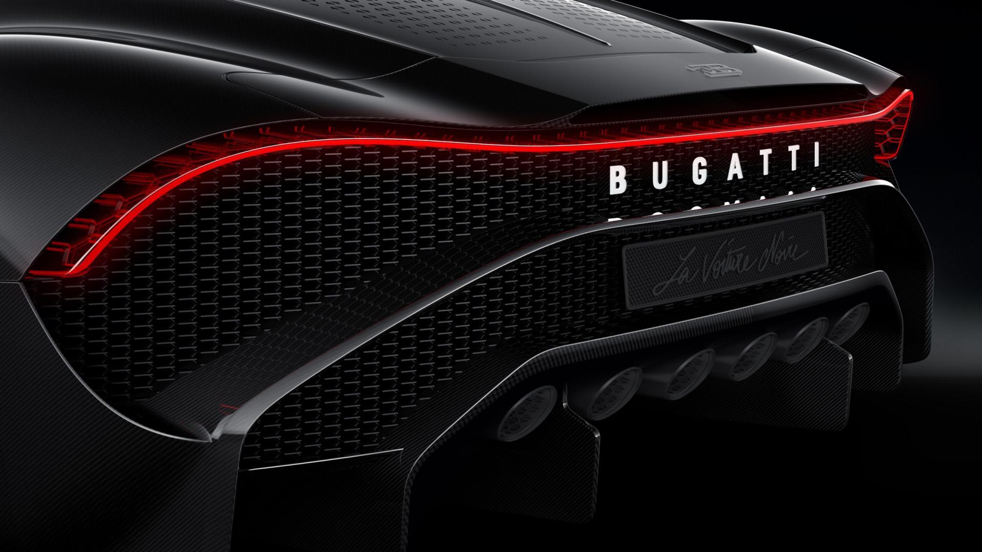 Bugatti La Voiture Noire achterkant
