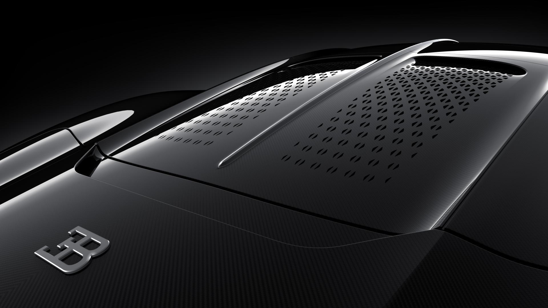 Bugatti La Voiture Noire motorkap