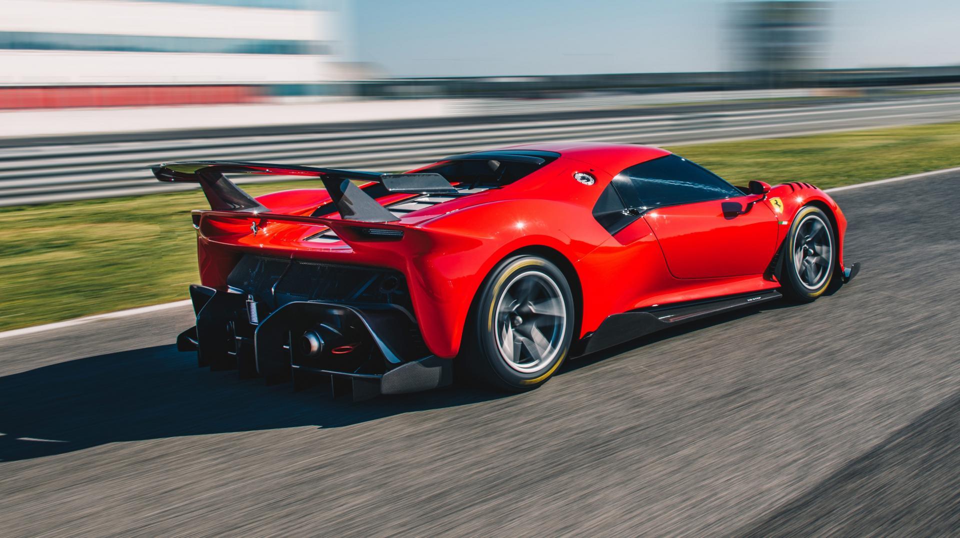 Ferrari P80c Is Een One Off Circuitspeeltje Topgear Nederland