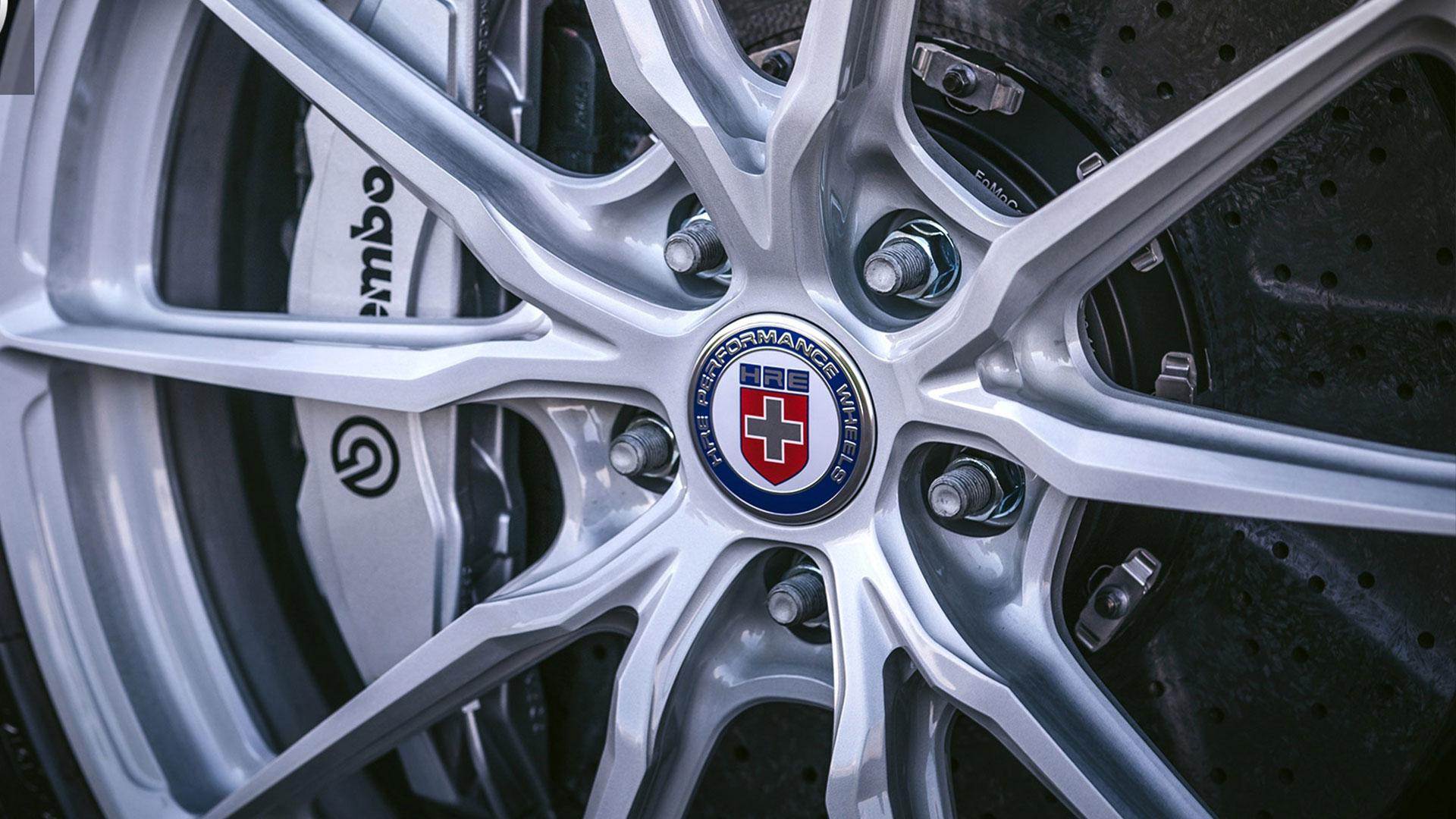 Ford GT HRE wielen Brembo remmen