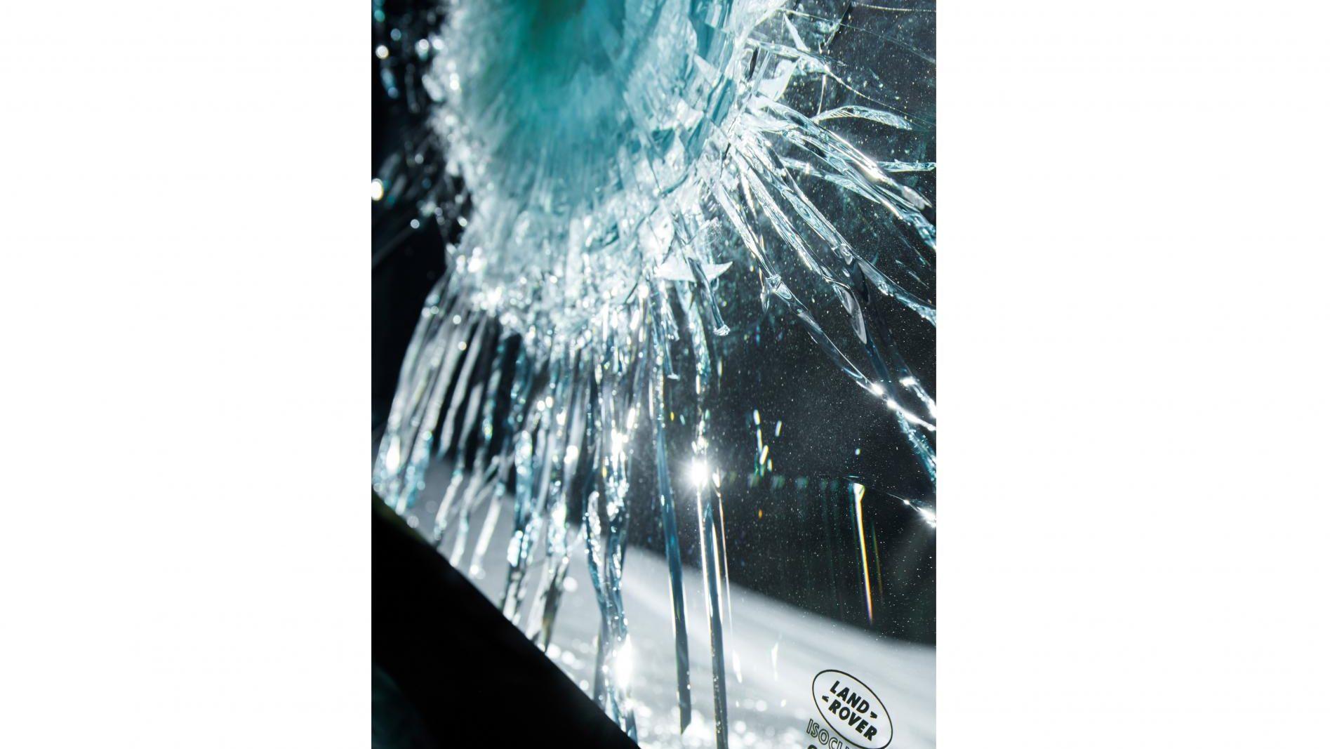 Gepantserde Range Rover Sentinel kogelvrij glas