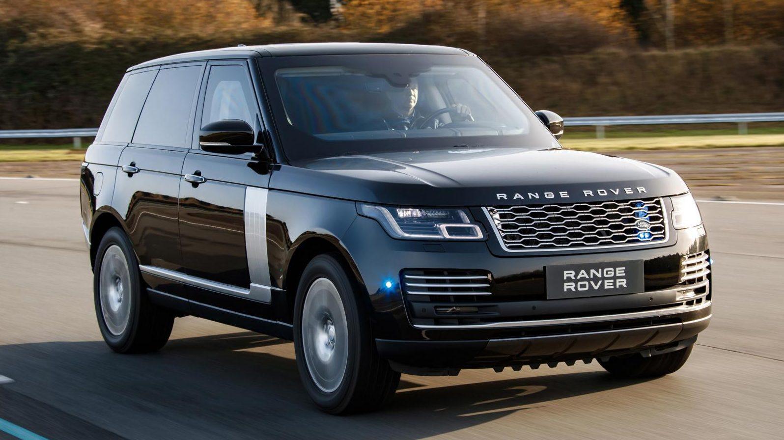 Gepantserde Range Rover Sentinel