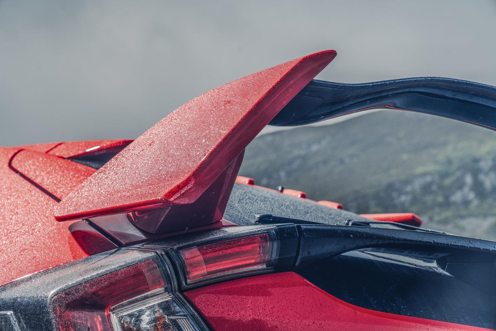 Honda Civic Type R spoiler
