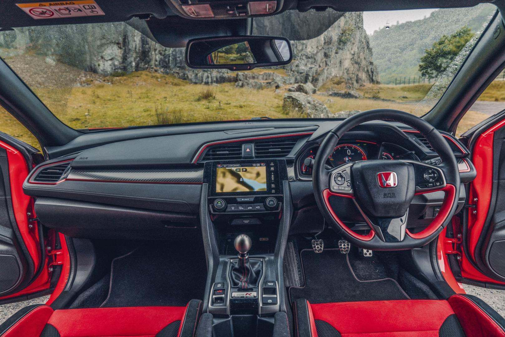 Honda Civic Type R interieur dashboard