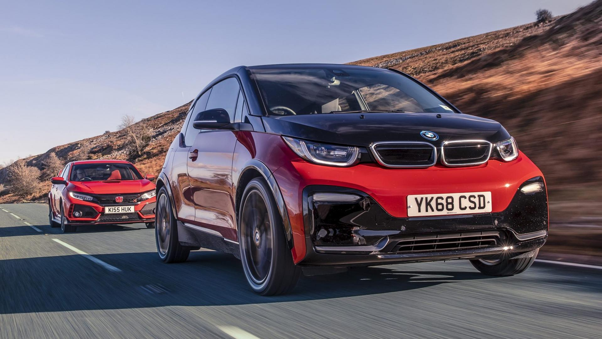 BMW i3s, Honda Civic Type R