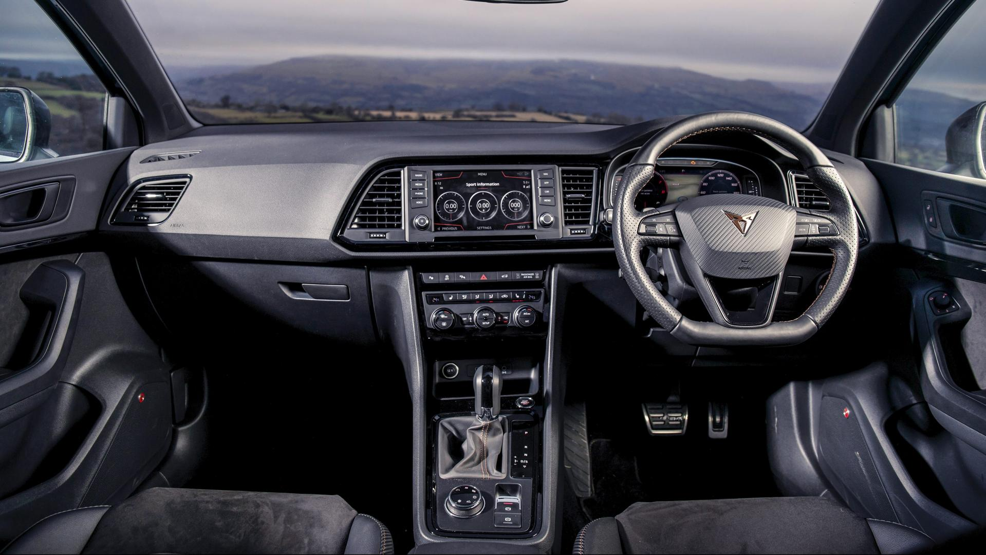 Cupra Ateca interieur dashboard