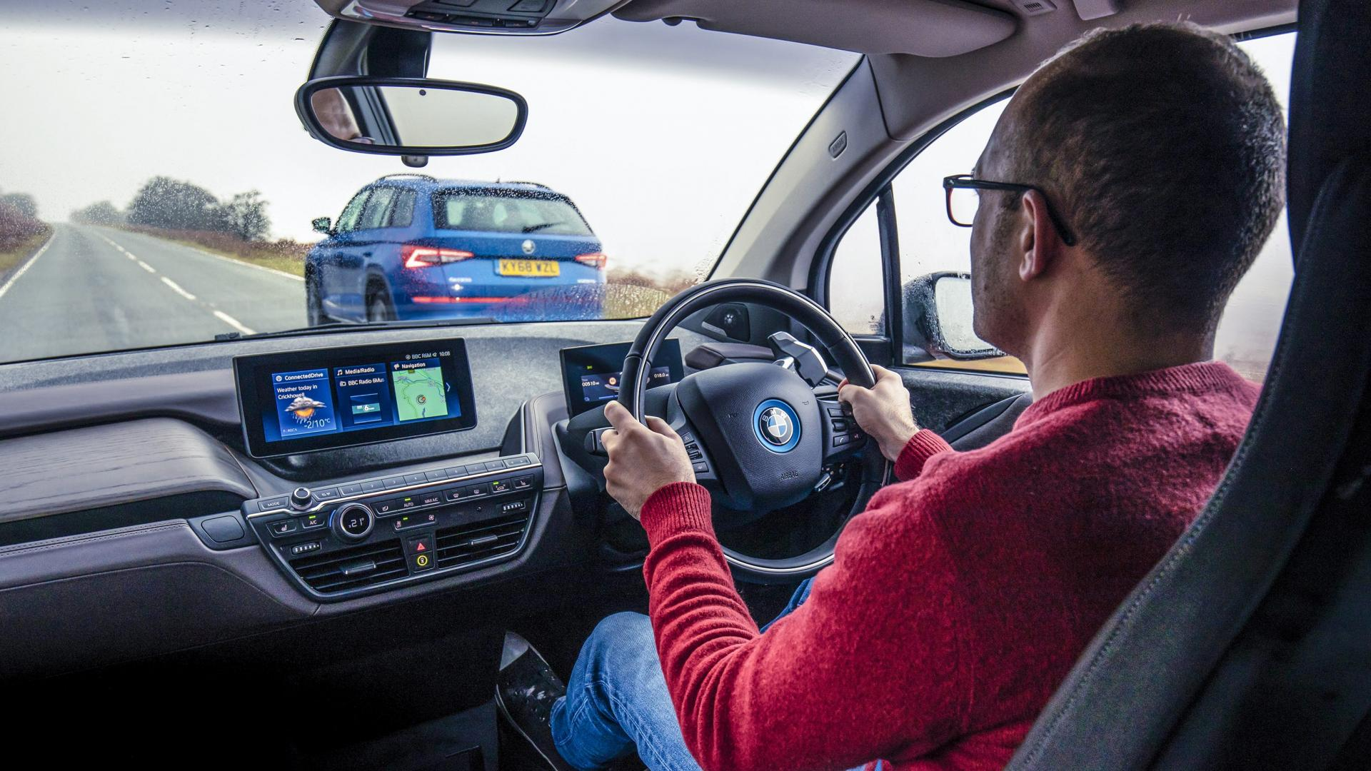 BMW i3s interieur dashboard