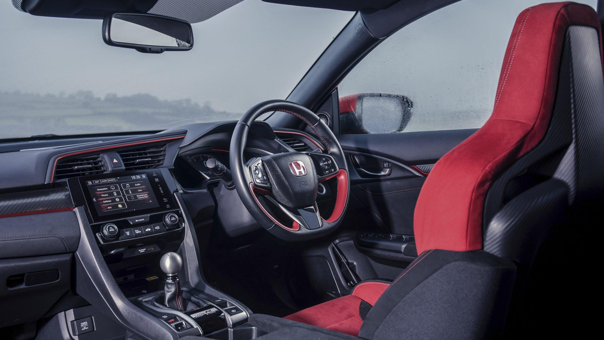 Honda Civic Type R interieur dashboard